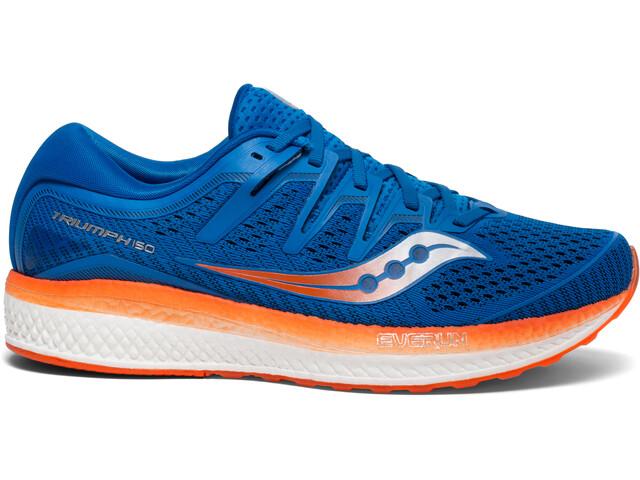 saucony Triumph ISO 5 Shoes Men Blue/Orange